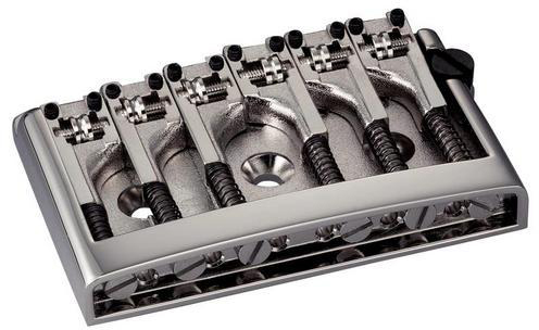 Schaller E-Guitar bridge 3D-6 Nickel
