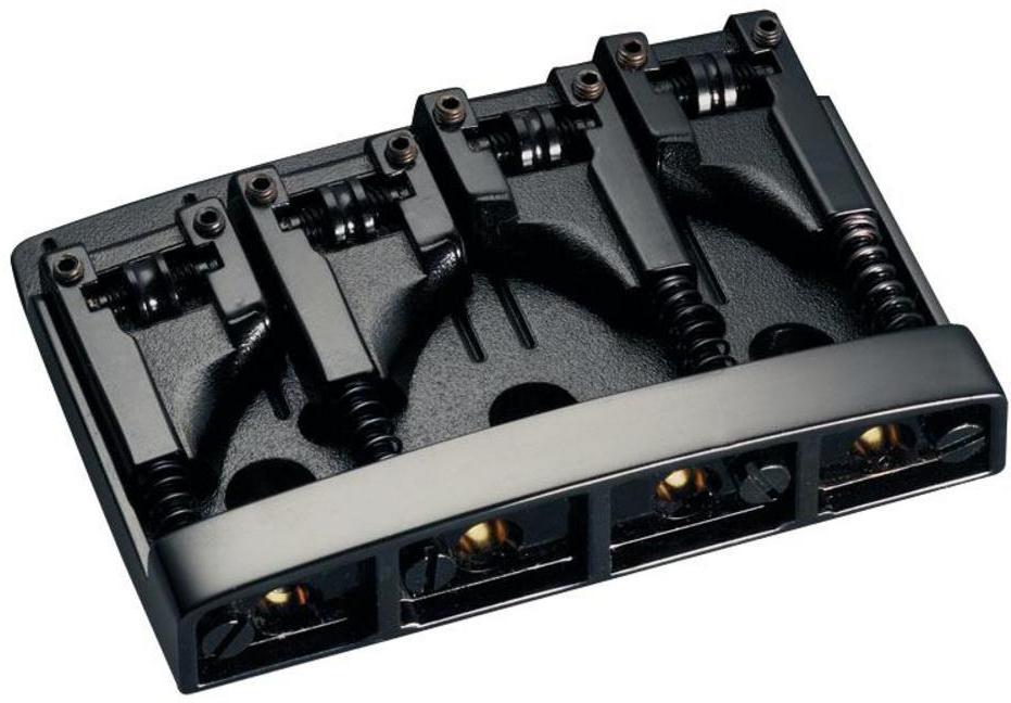 Schaller E-Bass-bridge 3D-4 4-string Black
