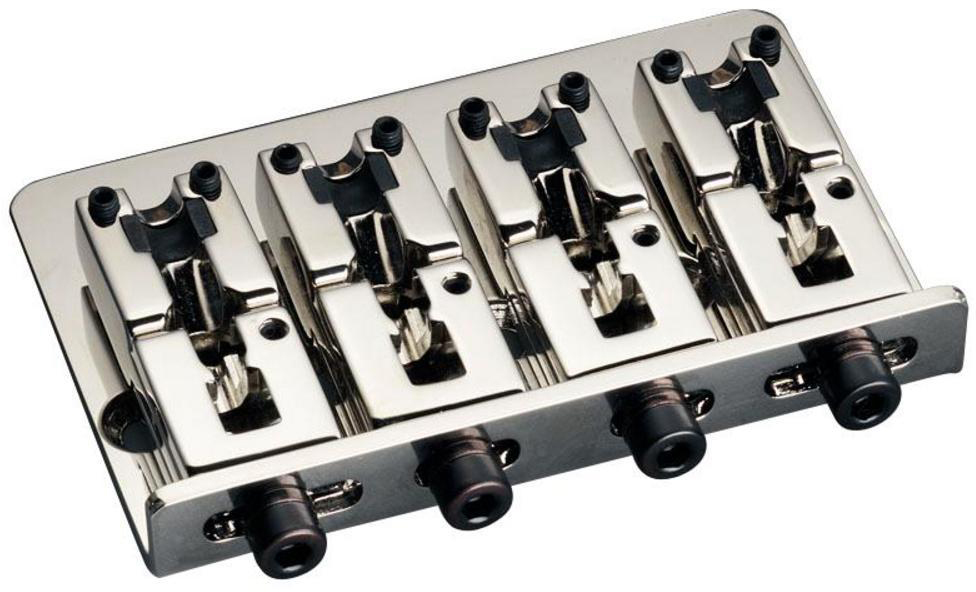 Schaller E-Bass-bridge 2000 4-string Nickel