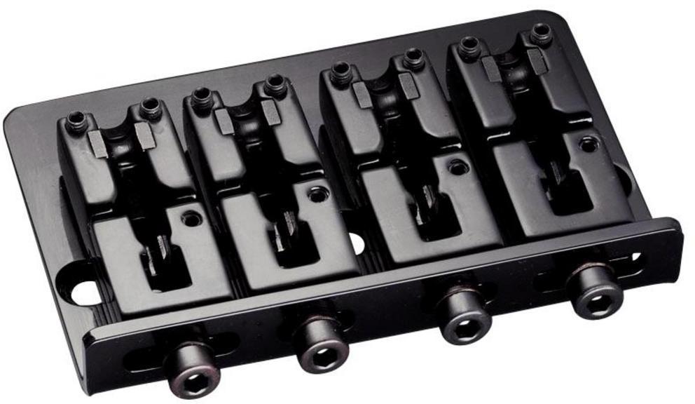 Schaller E-Bass-bridge 2000 4-string Black