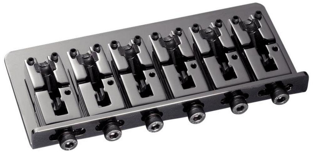 Schaller E-Bass-bridge 2000 6-string Ruthenium