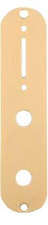 Schaller Control plate Tele-Style Gold