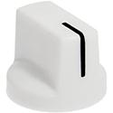 White pointer knob