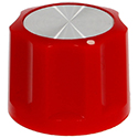 Synth knob Synthie-3 Red