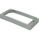 Schaller Frame HB-1-STR-MET-CUR-HI-Satin Chrome