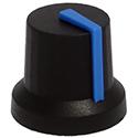 GNA knob ST-BLK-BLUE