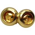 Toronzo Strap Button TZ-14S-Gold
