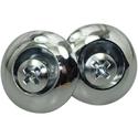Toronzo Strap Button TZ-17-Chrome
