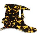 Toronzo Pickguard TE-3PLY-Wild Cat Yellow