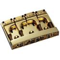 Schaller Bass bridge 3D-4 Piezo 4-string Gold