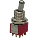 MEC M 80020/C chrome Toggle on/on 3PDT