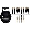 Alpha Audio Pro Line Multicore 4ST-8XLR-3m