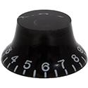Hat knob Hatty-BK