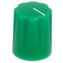 Mini-Fluted knob green