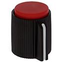 Knurled knob CC-RED
