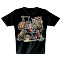 T-Shirt Drum Pig XXL
