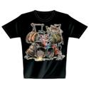 T-Shirt Drum Pig S