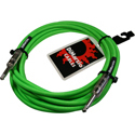 EP1718GN Overbraid Cable Neon Green 6m