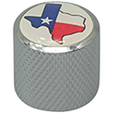 Dome Knob Texas Chrome