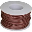 Wire, 0,35mm, brown, 15m