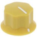 Eagle knob 25mm Yellow