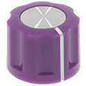 Synth knob Synthie-2 Violet