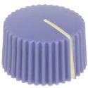 Amp style knob Violet