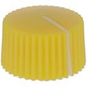 Amp style knob Yellow