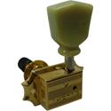 Schaller Machine Head G-Series Keystone SR Locking 3 left/ 3 right. Gold