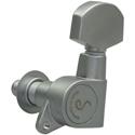 Schaller Machine Head M6 135 3 left/ 3 right. Satin Chrome