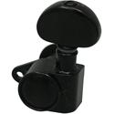 Schaller Machine Head M6 Vintage Top-locking 3 left/ 3 right Black