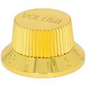 Guitar knob VOL-GOLD