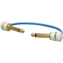 George L's Patch Cable Gold 0,155 - 6 inch