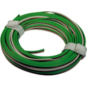 Triple Wire 0,14mm, gn/bn/wh, 5m