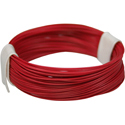 Wire 0,04mm, red 10m