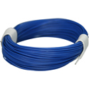 Wire 0,04mm, blue 10m