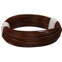 Wire 0,04mm, brown 10m