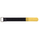 Velcro cable ties, 20x200mm, 10pcs, Yellow