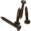 QPX-Aged Pickup ring screws LP-BRIDGE