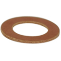 Flat insulating washer 1/4 inch.