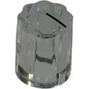 Mini-Fluted knob Crystal