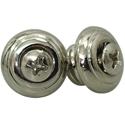 Toronzo Strap Button TZ-15-Nickel