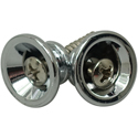 Toronzo Strap Button TZ-17V-Chrome