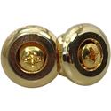 Toronzo Strap Button TZ-17S-Gold