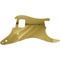 Toronzo Pickguard ST-H-2P-2PLY-Mirror Gold