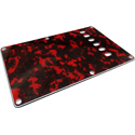 Toronzo Backplate BP-3PLY-Tiger Red