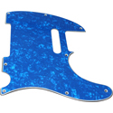 Toronzo Pickguard TE-3PLY-Pearl Blue