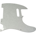 Toronzo Pickguard TE-2PLY-Sparkle Silver