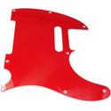 Toronzo Pickguard TE-2PLY-Sparkle Red