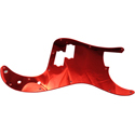 Toronzo Pickguard PB-2PLY-Mirror Red